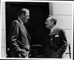 Dr. Carl Hoffman with J. Enoch Powell, Member of British Parliament