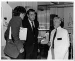 Dr. Carl Hoffman (l), Dr.John Pryor, Dr. Howard Hanley, St. Paul's Hospital