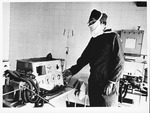 Dr. Carl Hoffman in surgery room at Russian hospital