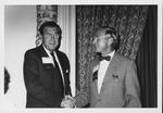 Dr. Carl Hoffman (left) with Dr. Harry H. Kretzler, Edmonds, Wash.