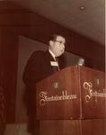 Dr. Charles Hoffman giving speech at American Urological Association, 1968