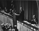 Dr. Charles Hoffman at AMA meeting, 1971