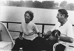 Dr. Charles Hoffman and wife Margaret Lynn on their boat