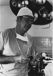 Dr. Charles Hoffman in operating room
