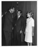 Dr. Carl Hoffman meeting Pres. and Mrs. Richard Nixon, 1972