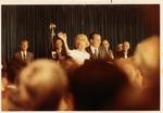 Dr. Carl Hoffman (back row) and Pres. & Mrs. Richard Nixon, 1972