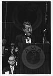 Dr. Carl Hoffman accepting presidency of AMA, June, 1972