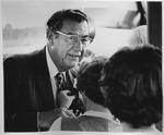 Dr. Carl Hoffman & wife Lynn when he was elected prfes. of AMA, June 1971