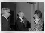 Lynn Hoffman & Dr. Price from Morgantown, W.Va., AMA meeting, 1971