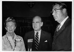 Dr. Carl Hoffman & Dr. & Mrs. Russel Roth, AMA meeting, 1971