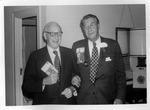 Dr. Carl Hoffman & Dr. Miller, AMA meeting, 1971