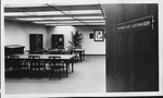 Dr.Carl Hoffman room in Morrow Library, Marshall University, 1980