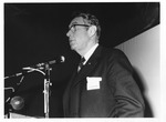 Dr. Carl Hoffman speaking at