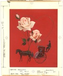 Hansom cab with roses