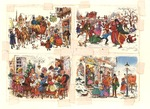 Christmas town scenes