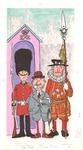 Three British men