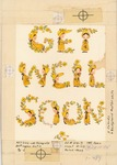 Get Well Soon girl with yellow flowers
