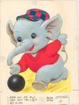 Bowling elephant