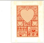 Red outline Valentine