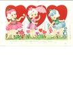 Three flower girls