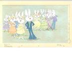 Dressed up bunnies