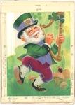 Leprechaun with harp