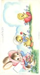 Bunny, duckling, and chick