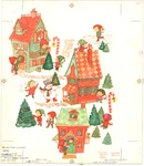 Elves Christmas town