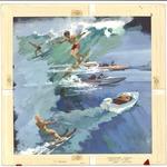 Water sports scene