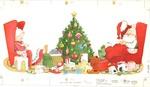 Santa and Mrs. Claus asleep