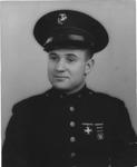 Photo of Marine Sgt. Earl F. Dickinson, 1943
