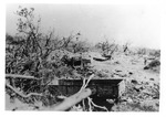 WWII Pacific Theater, combat photo: destroyed Japanese vehicles by Earl F. Dickinson