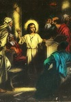 Victor Animatograph lantern slide: Christ in the Temple