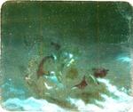 Victor Animatograph lantern slide: Christ Stilling the Sea