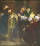 Victor Animatograph lantern slide:Judas Returns the Money to the Priests