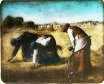 Victor Animatograph lantern slide: The Gleaners in the Field