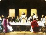 Victor Animatograph lantern slide: The Last Supper (by Da Vinci)