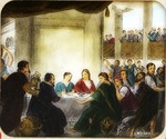 Victor Animatograph lantern slide: The Marriage of Cana