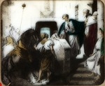 Victor Animatograph lantern slide: The Departure of the Prodigal Son