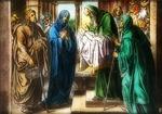 Victor Anim. lantern slide:Presentation of Christ in the Temple & Simeon's Prophecy.