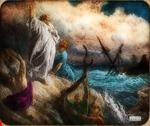 Victor Animatograph lantern slide: Paul Shipwrecked (by Dore)