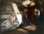 Victor Animatograph lantern slide: The Raising of Lazaarus