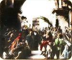 Victor Animatograph lantern slide: The Triumpha Entry to Caesarea