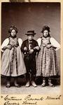 Munich peasant costumes, ca. 1870