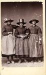 Tyrol peasant costumes, ca. 1870