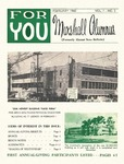 For You, Marshall Alumnus, Vol. 1,  February, 1960, No. 3
