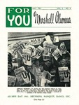 For You, Marshall Alumnus, Vol 2, May, 1961, No. 4 by Marshall University