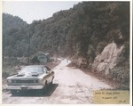 Flood damage, Route 80, Mingo County, W.Va. after the Gilbert Creek Flood by United States Army