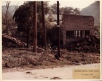 Flood damage, Stafford Branchl, Mingo County, W.Va. Aug. 1972 by United States Army