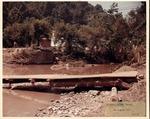 Flood damage, Gilbertl, Mingo County, W.Va. Aug. 1972 by United States Army